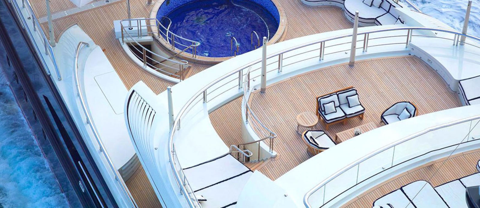 Tranquility - Aerial of Decks