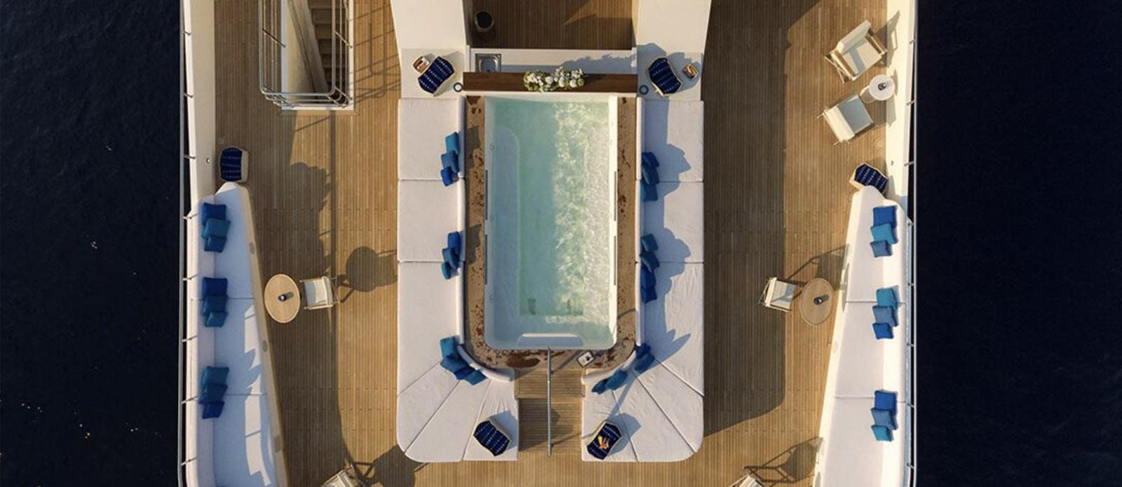 Serenity - Aerial of Pool