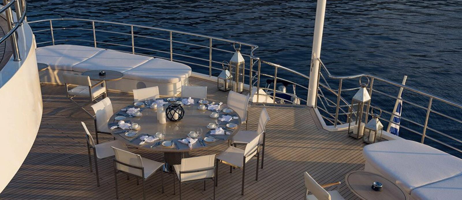 Serenity - Exterior Dining