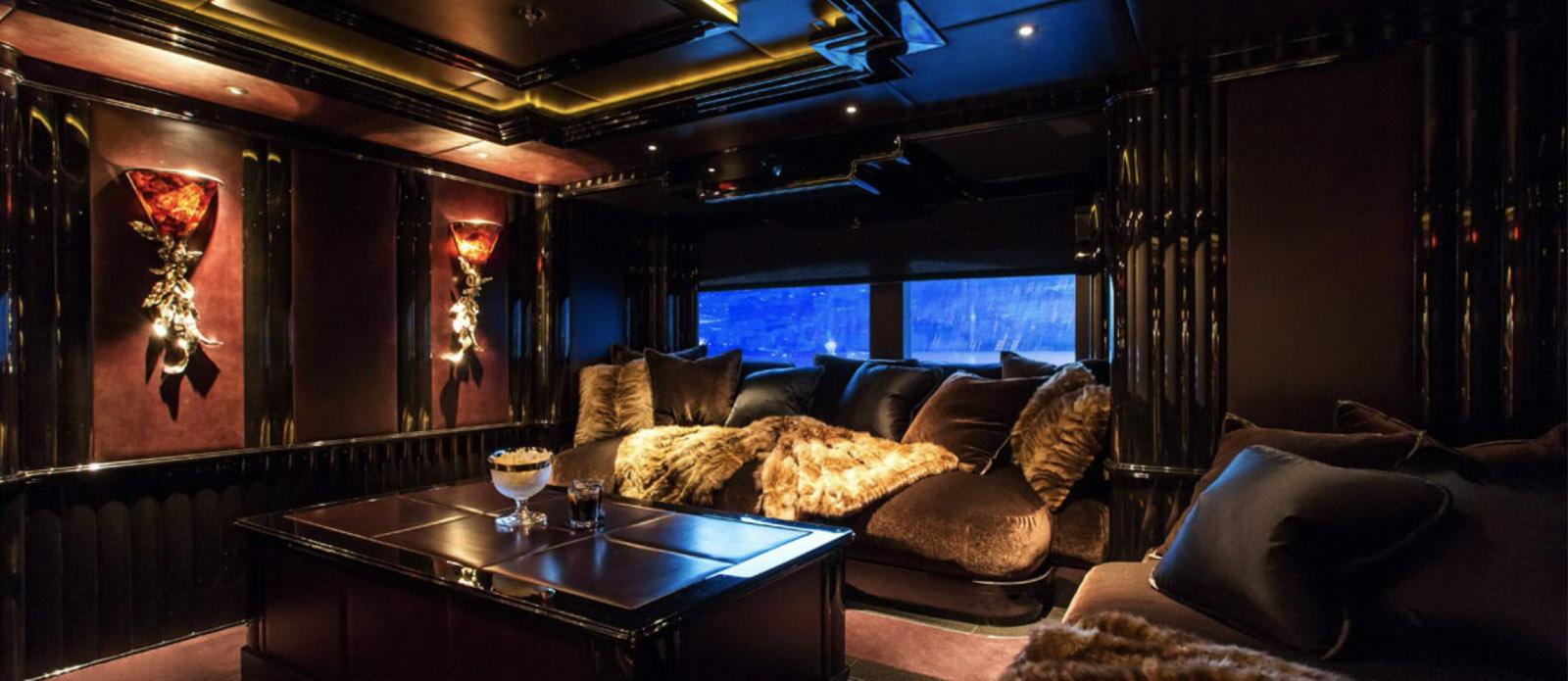 Lioness V-Benetti-Cinema-Room