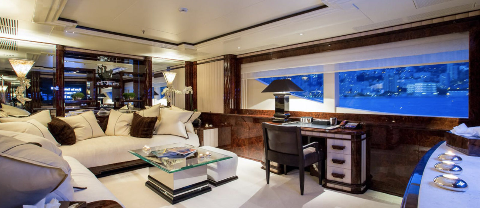 Lioness V-Benetti-Owners-Office