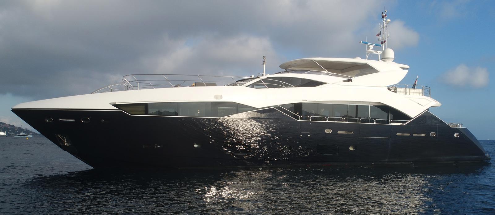 Sunseeker-115-Sport-Yacht-Zulu-Side-Profile-Drone-Photo