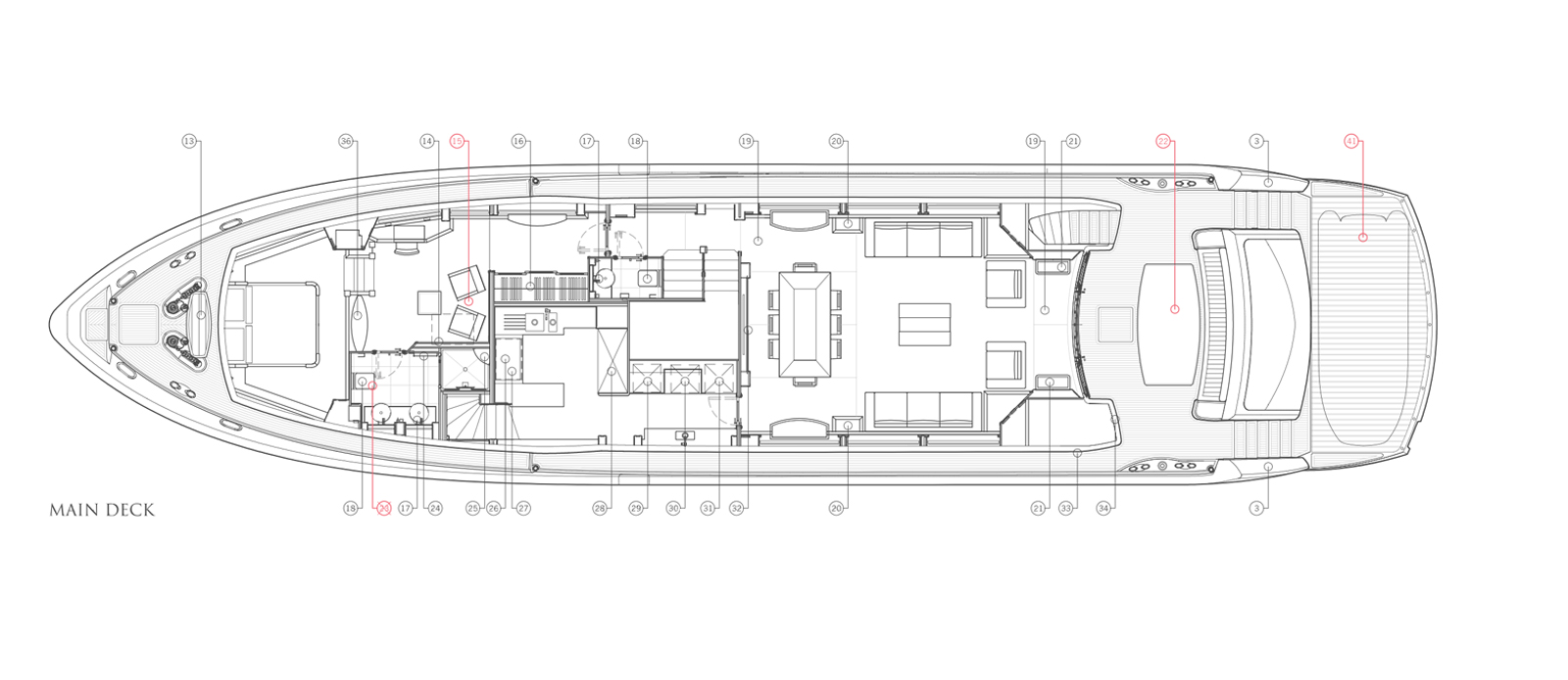 Sunseeker-30-Metre-Yacht-Tuppence-Main-Deck-Layout