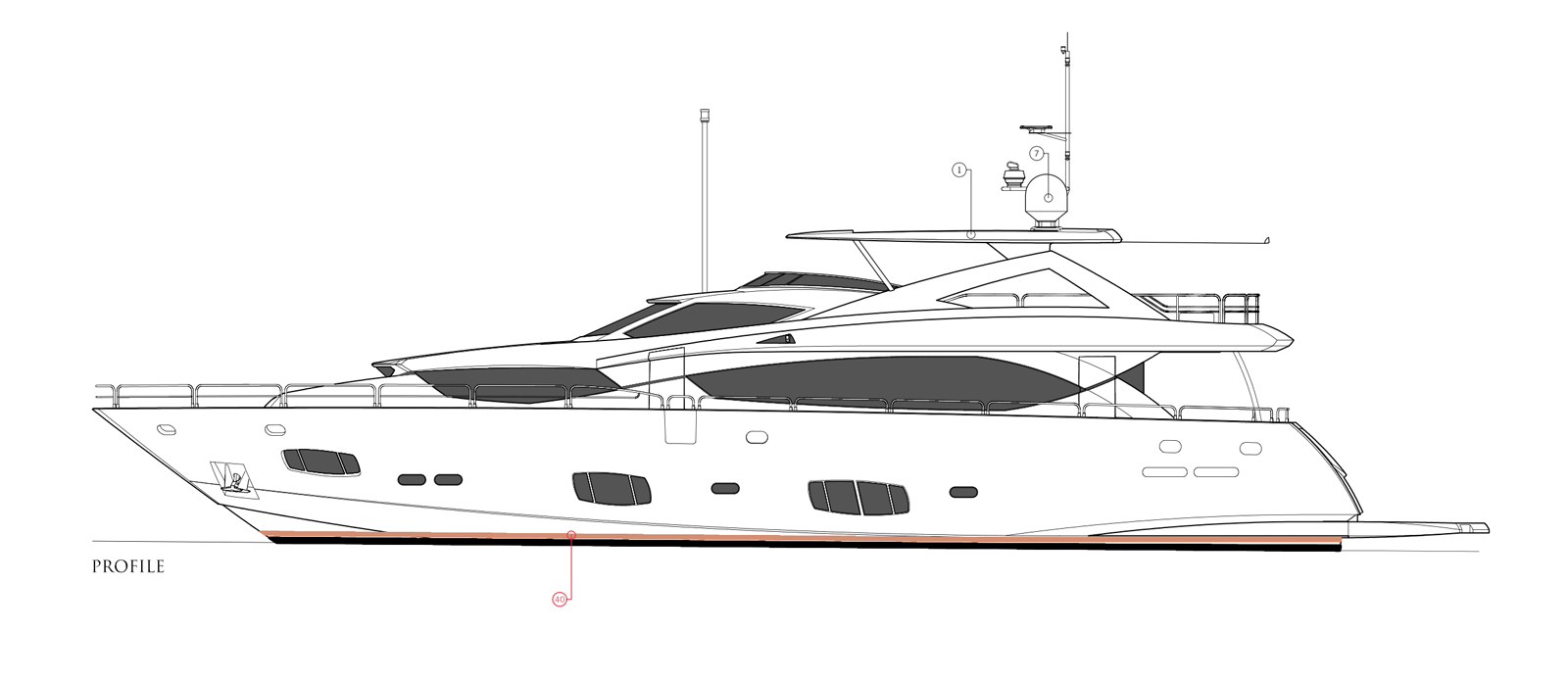 Sunseeker-30-Metre-Yacht-Tuppence-Side-Profile-Layout