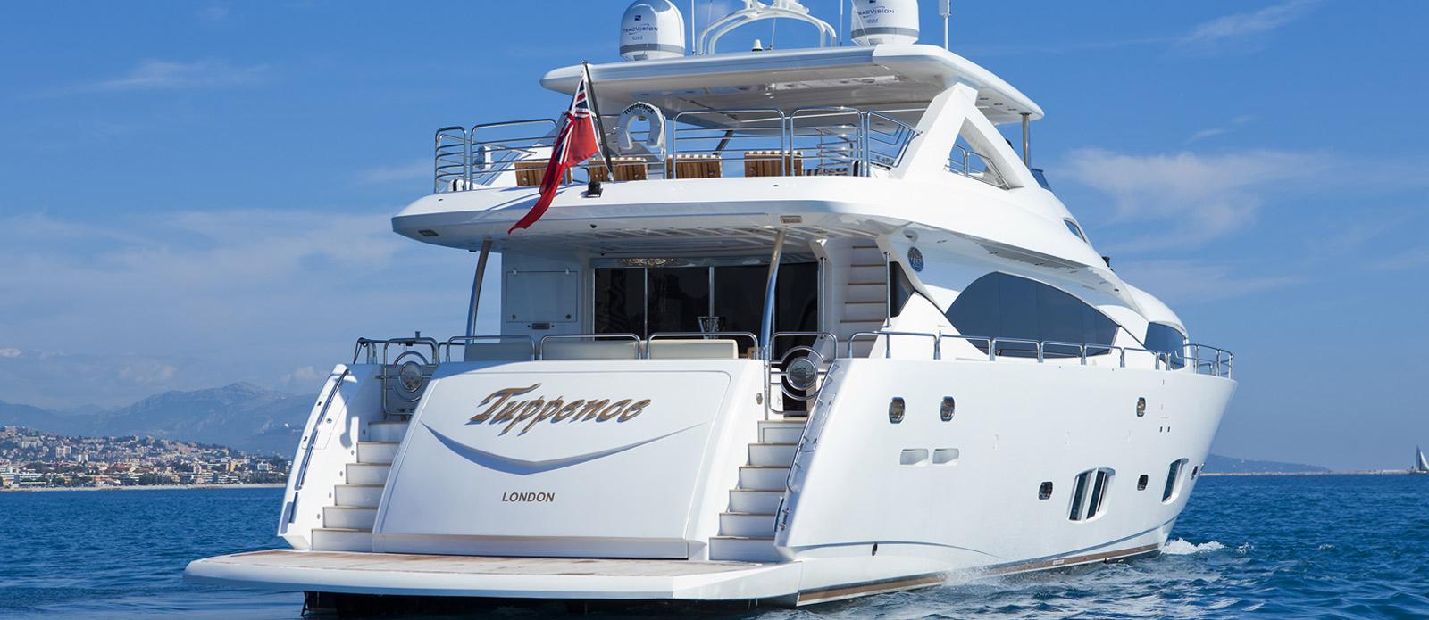 Sunseeker-30-Metre-Yacht-Tuppence-Stern-View-2