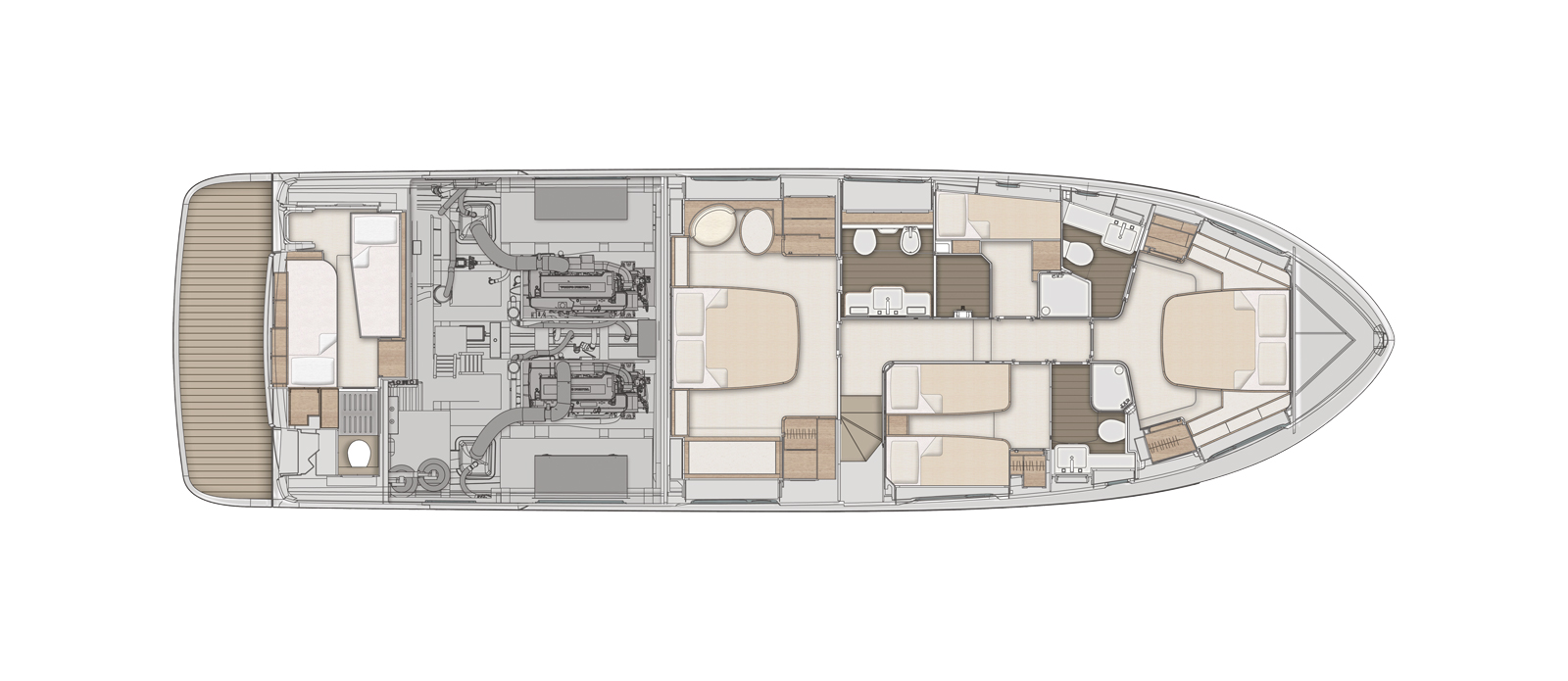 Azimut-Magellano-66---For-Sale---Bristow-Holmes---Layout---Lower-Deck