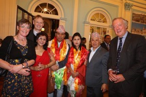 Dushain Celebration at the embassy of Nepal