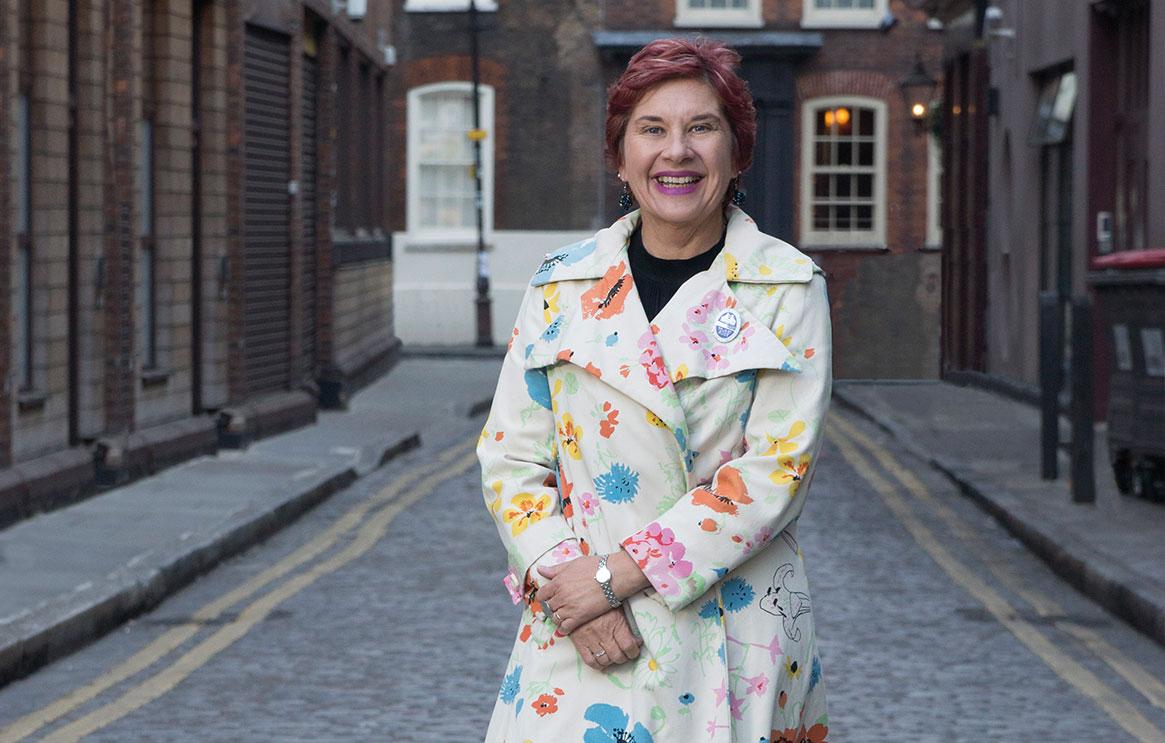 London fashion tour guide