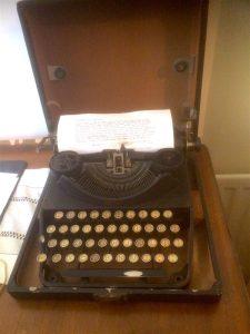 c s lewis typewriter
