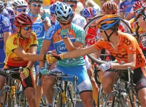 cycle race, bikes
