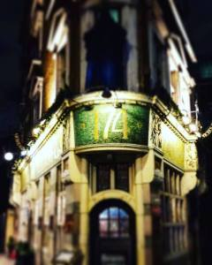 The Blackfriar pub,, London