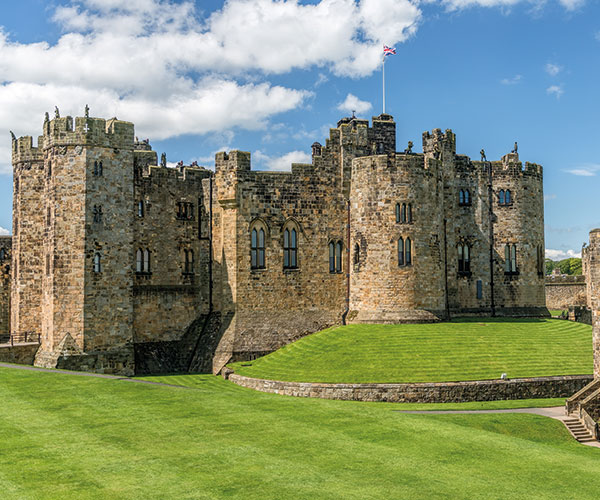 Harry Potter tour, Alnwick Castle