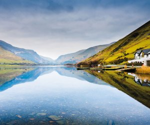A lake in Snowdonia Wales