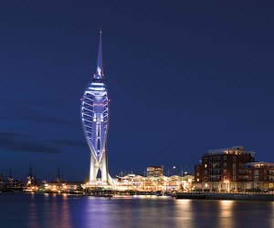 Spinnaker tower Portsmouth by night