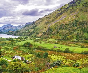 A valley in Snowdonia Wales