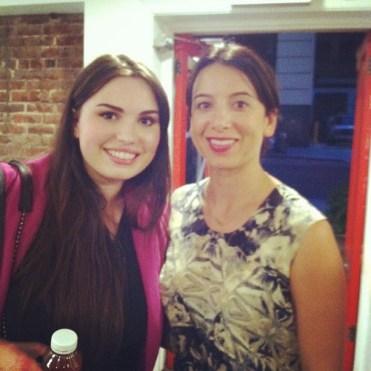With Sasha of Ilia Beauty