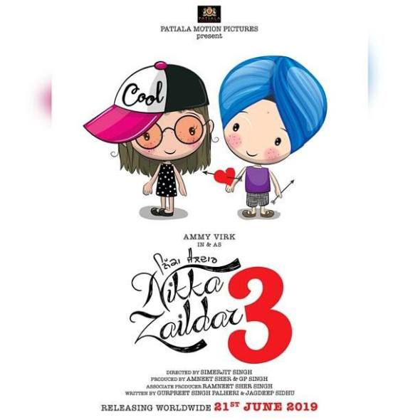 Nikka Zaildar 3 Release Date Review Trailer Story Poster Income