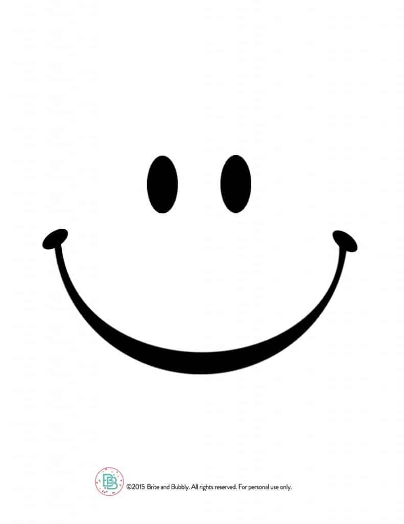 smiley faces templates - Romeo.landinez.co