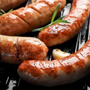 Bratwurst Sausage- gluten free- 3 sausages per pack