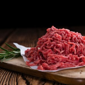 Ground Beef-93% extra lean- Box 20 Lb. of 1 lb-for shipping