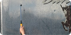 Apply Silver BritePlus to a dry surface