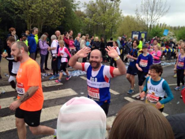 London Marathon, April 15