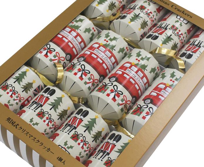 イギリス式クリスマスクラッカーが日本で製造・販売されるようになりました!