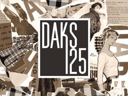 [終了]DAKS125周年アニバーサリーイベント 「The Story of DAKS ~DAKSが紡ぐ物語~」開催
