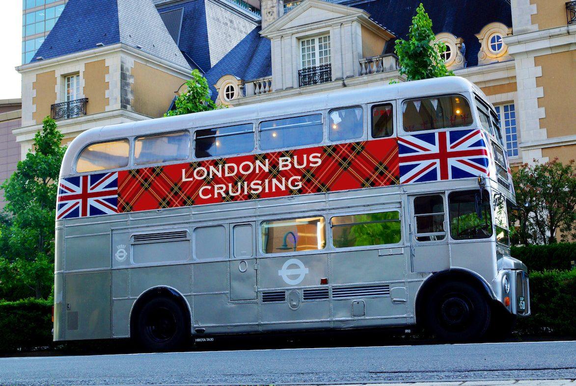 [終了]『アフタヌーンティーで旅するイギリス』発行記念  アフタヌーンティーバスが都内を走ります!