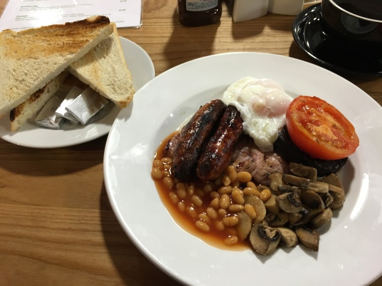 Chase Farm Cafe - Full English Breakfast