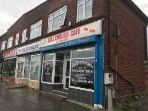 Full English Cafe - Outside