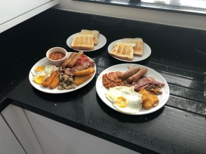 Crusty Cottage - Full English Breakfast Plated