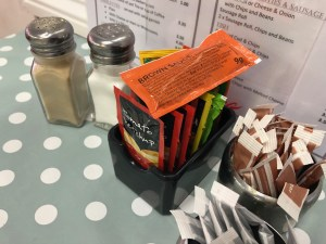 Andys Cafe Newquay - Cheap Sauce