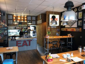 English Breakfast Co - Hipster Interior