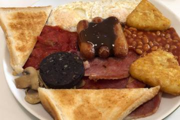 Lloyds Cafe - Wednesbury - Full English Breakfast