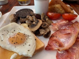 Full English brekkie - One Castle Street B and B - Bakewell