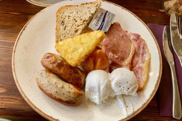 The Forest - Excellent Full English Breakfast - Tamworth