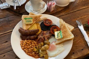 Stones Cafe - Weston Super Mare - Lifeboat Breakfast