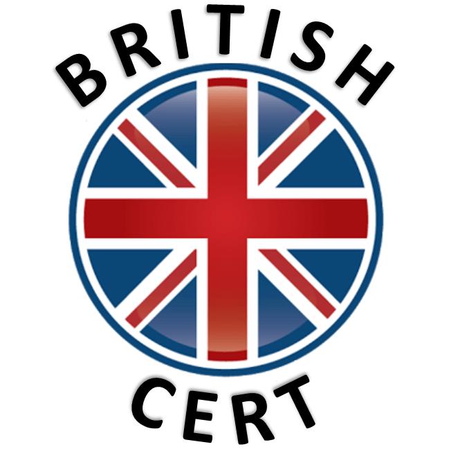 British Cert