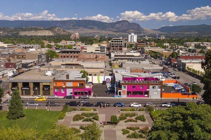 Mais Belas Cidades do Canadá para Morar Kelowna, British Columbia