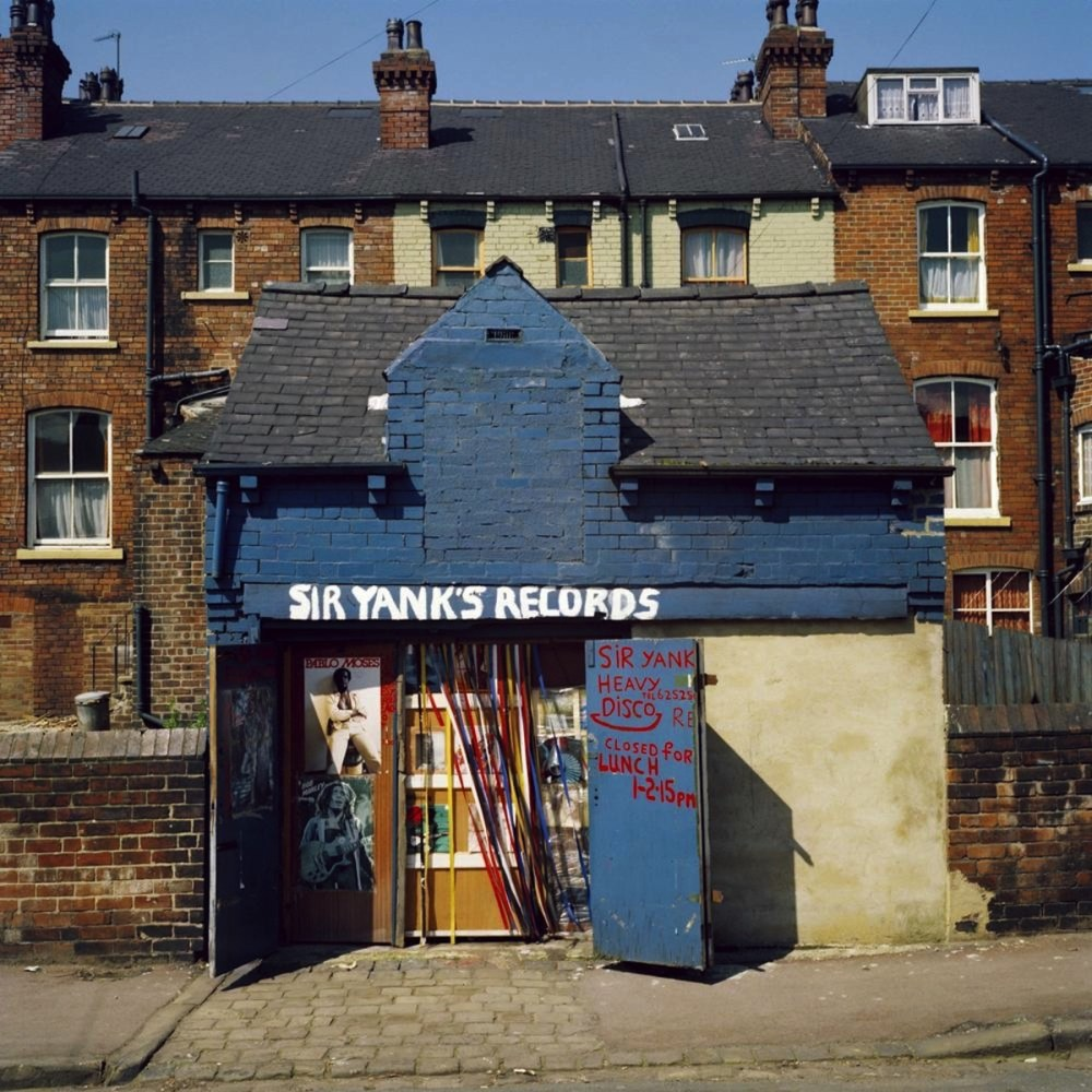 A photo of Photo of Sir Yanks Records Y Heavy Disco by Peter Mitchell Leeds, 1970s.