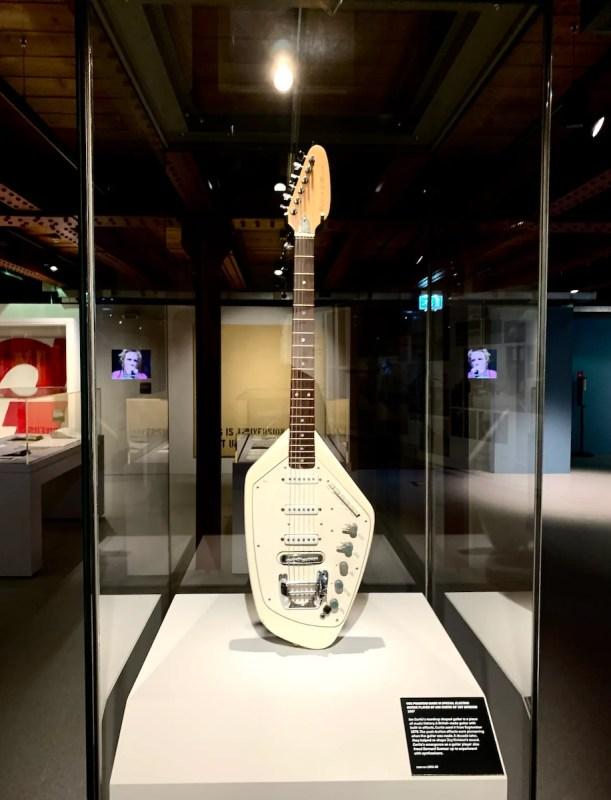 Ian Curtis Vox Phantom Guitar Exhibition