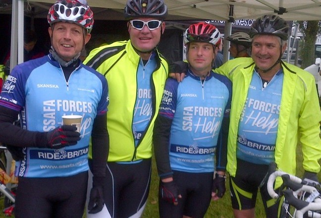 SSAFA Ride of Britain 2013