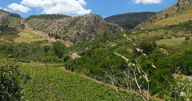 On-Sicily - Mountainous terrain provides a real challenge