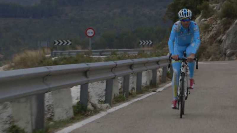 Team Astana and Omega Pharma Quick-Step Training