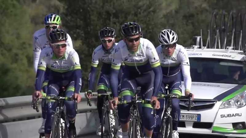 ORICA GreenEDGE Girona Training Camp