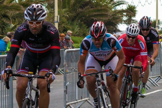 Racing will be fast and furious on the tight seafront course