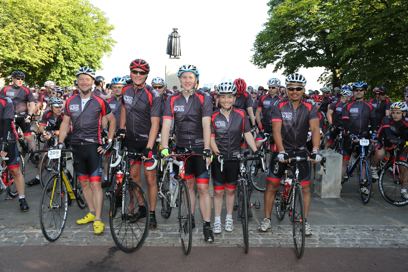 The Unstoppables' London to Paris