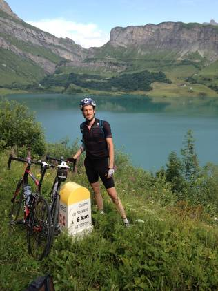Cycling the Alps - Day 2