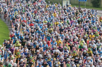 Cycling has seen a huge increase in riders and events